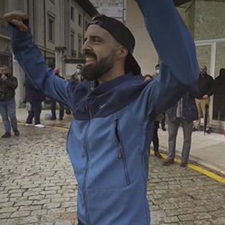 ROBERTO REBOLLO - 100 km corriendo entre Bilbao y Santander